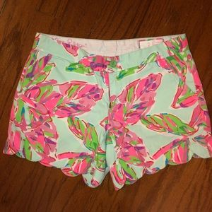 Lilly Pulitzer buttercup shorts size 2